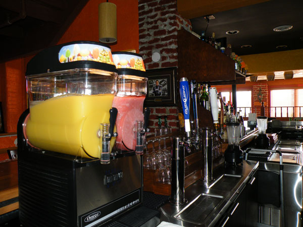 Poblanos Mexican Restaurant Margarita dispenser image